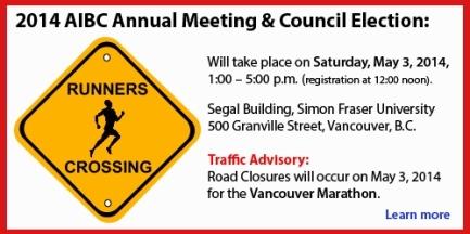 Annual Meeting Traffic Advisory Banner