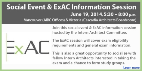 Social Event & ExAC Information Session - Draft 2
