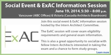 Social Event & ExAC Information Session - Draft 2
