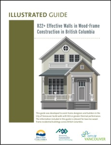 Illustrated Guide to R22+ Effective Walls in Wood-Frame Construction in BC