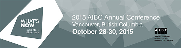 2015 AIBC Annual Conference October 28-30, 2015