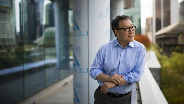 Architect James Cheng is pictured at the newly redeveloped Pacific Centre office and retail complex in downtown Vancouver, British Columbia on July 15, 2015. Courtesy of The Globe and Mail, photo by Ben Nelms