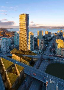 Image: Bjarkel Ingels' Vancouver House, courtesy Westbank