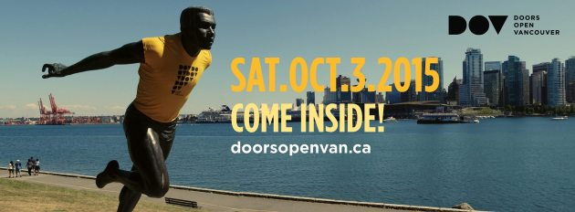 Doors Open Vancouver on Oct 3