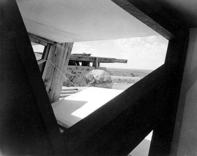 Frank Lloyd Wright's Arizona home, Taliesin West, 1940, photo by Pedro E   Guerrero