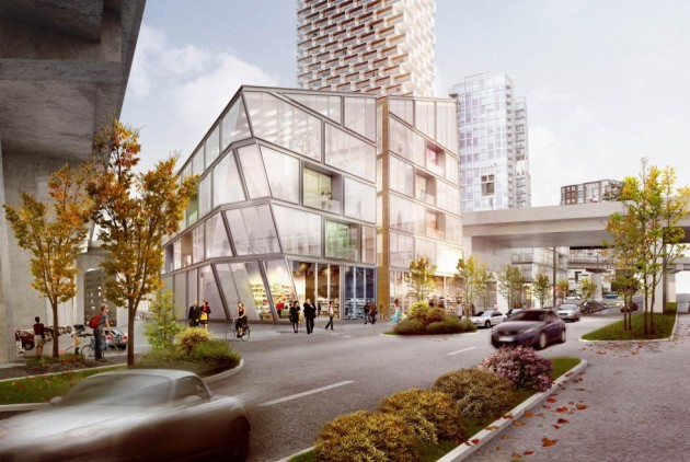 Vancouver House has won praise for its honeycomb facade. Courtesy of South China Morning Post, photos from Westbank Corp, Bjarke Ingels Group