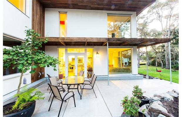 Passive House built by Bernhardt Passive Homes in Victoria was recently certified by the Passivhaus Institut in Germany. Courtesy of Vancouver Sun