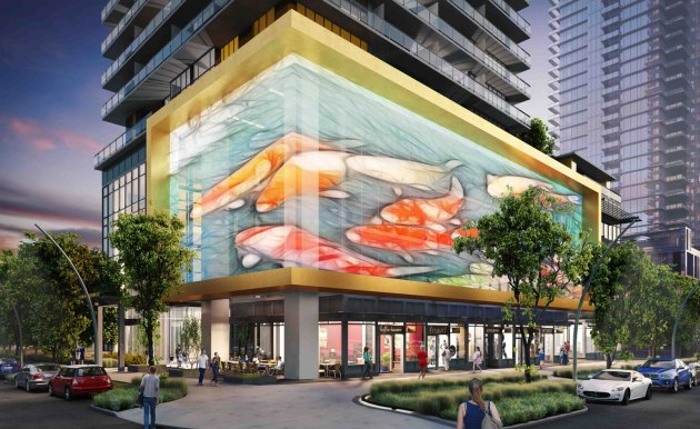 Gold House is a shimmering new residential development bringing high design to Metrotown. Courtesy of Wallpaper