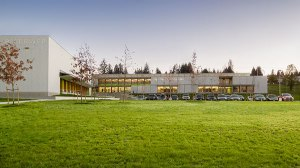 Pitt River Middle School by Perkins+Will Canada Architects Co. Photo: Michael Elkan