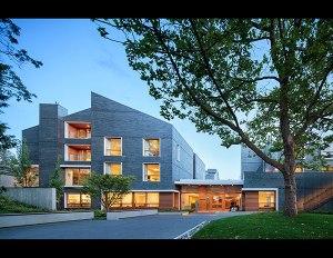 Ronald McDonald House BC & Yukon by MGA | Michael Green Architecture (project started at mcfarlane | green | biggar architecture + design) Photo: Ed White