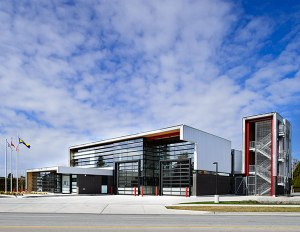 Steveston Fire Hall by HCMA Architecture + Design Photo: Hubert Kang