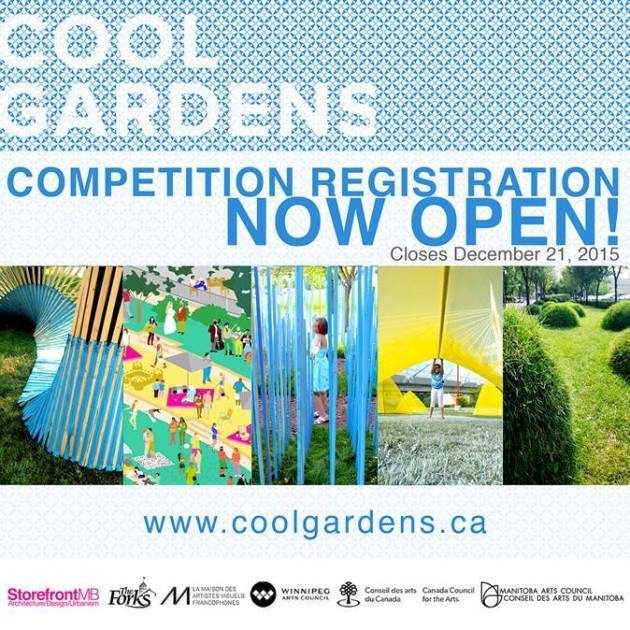 Cool Gardens Call for Entries Deadline Dec 21