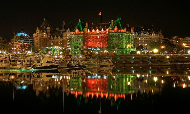 Image: The Empress Hotel in Victoria, BC. Courtesy of Communities Digital News, Wikipedia