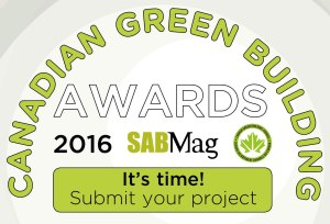 2016 Canadian Green Building Awards
